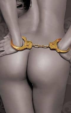 BDSM FF gold - cuffs