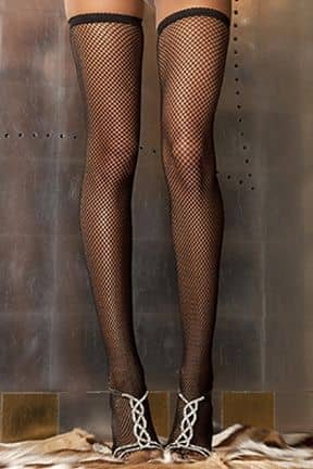 Stayups & strømpebukser Fishnet Thigh High O/S