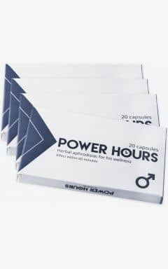 Øget Sexlyst Power Hours - 80-pack