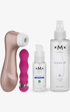 Black Friday Week  Satisfyer Pro 2 med vibrator, glidecreme og rengøring