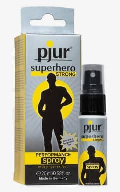 Forøgende Pjur Superhero Strong - 20 ml