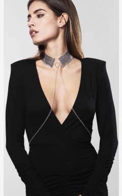 BDSM Desir Metallique Collar Silver