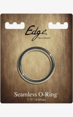 Penisring uden vibrationer Edge Seamless Metal Ring 4,5 cm