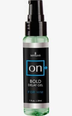 Øget Sexlyst & Forlængende Sensuva - Bold Delay Gel For Him 29 ml