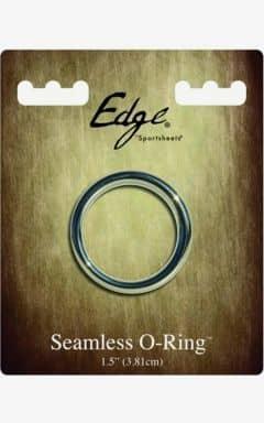 Penisringe uden vibrator Edge Seamless Metal Ring 3,8 cm