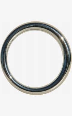 Penisring uden vibrationer Edge Seamless Metal Ring 3,8 cm