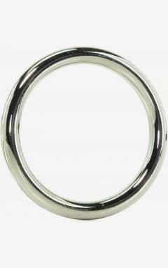 Penisringe uden vibrator Edge Seamless Metal Ring 5,1 cm