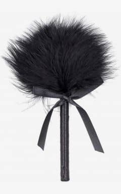 Brystklemmer & Ticklers Feather Tickler Black