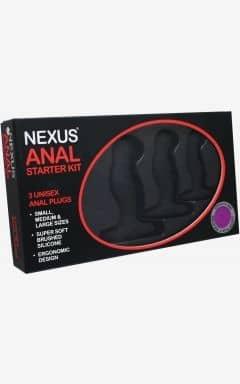 Analplug & Buttplug Nexus - Anal Starter Kit