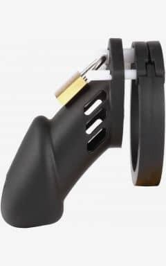 Bondage / BDSM Cock Cage Black Silicone