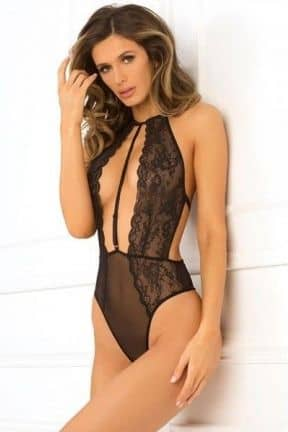 Lingeri Hot Pursuit Lace Bodysuit