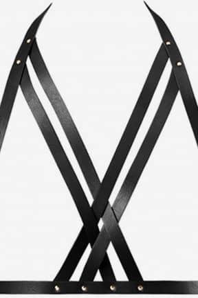 Sexet undertøj Bijoux Indiscrets - Maze Halter Bra Harness