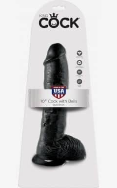 Anal Dildos King Cock Cock With Balls 25 cm
