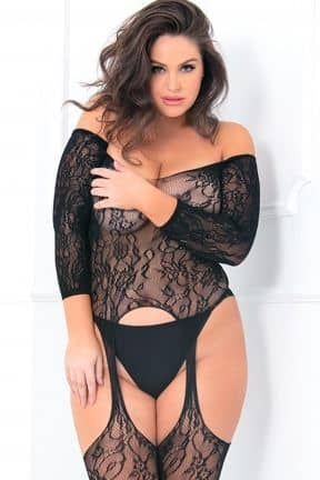 Plus Size Seductive Bodystocking X OS