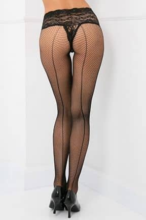 Stayups & strømpebukser Lace Top Fishnet Pantyhose OS