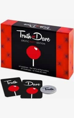 Sex spil Truth Or Dare Erotic Party Edition