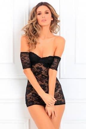 Sexet lingeri - Sæt Seductively Stunning Lace Dress