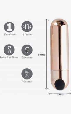 Fingervibratorer Power Bullet Jessi