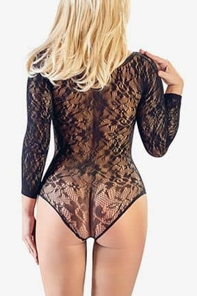 Catsuits / Bodystocking Mandy Lace Body O/S