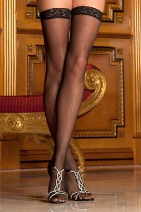 Lingeri Lace Top Sheer Thigh High