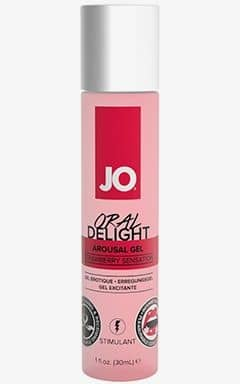 Øget Sexlyst & Forlængende System JO Oral Delight Strawberry