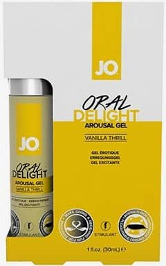 Øget Sexlyst & Forlængende System Jo Oral Delight Vanilla