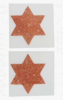 Cotelli Collection Nipple Sticker Star Copper