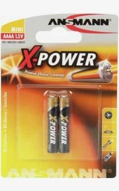 Batterier Batteri LR61 - AAAA 2-pack (Ansmann)