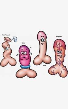 Tilbehør til sexlegetøj Stick A Dick Hunk - Game