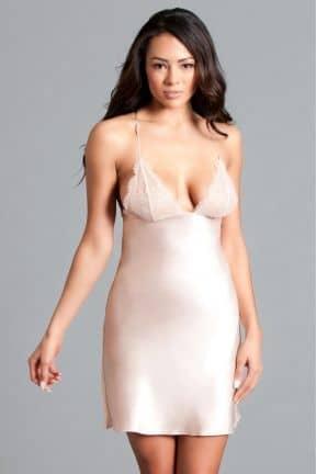 Sexet lingeri - Sæt Vittoria Slip Dress Blush