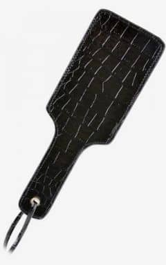 Piske & Paddles FF Gold Pleasure Paddle Black