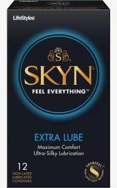 Sommer Udsalg 2021 Skyn Condoms Extra Lube 10-pack
