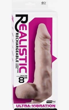 Dildo med sugekop Real Vibrating Dong