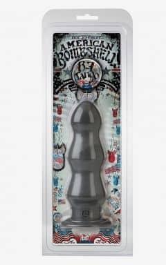 Anal Dildos American Bombshell B7 Tango Butt Plug Grey Os