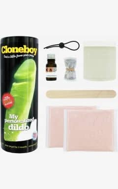 Nyheder Clone A Willy - Cloneboy - Dildo Glow In The Dark Nude