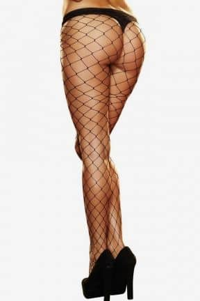 Lingeri Lapdance - Big Net Pantyhose Black