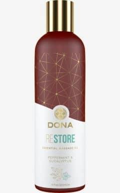 Massage Olie Dona - Massage Oil Peppermint & Eucalyptus 120 ml