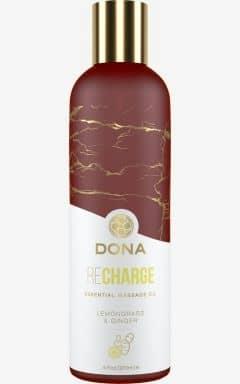 Massage Dona - Massage Oil Lemongrass & Ginger 120 ml