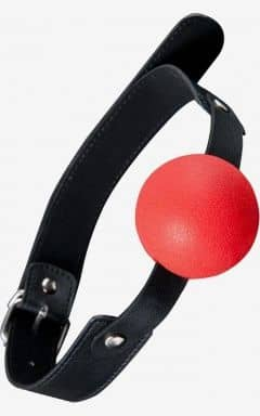 Gagballs GP Solid Silicone Ball Gag Red