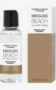 Glidecreme MIXGLISS Silicone Beach Coconut 50ml