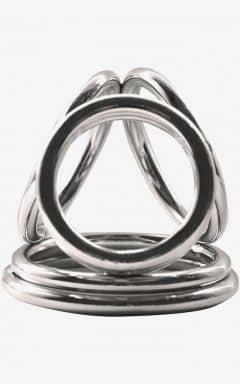 Kyskhedsbælter Cock Ring Steele Multi Trois