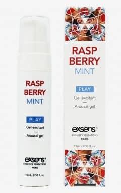 Julegaver til par Exsens - Sensual Play Gel Raspberry Mint