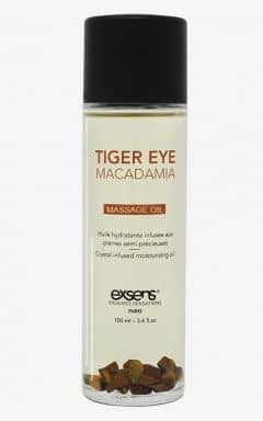 Bedre sex Exsens - Organic Massage Oil w. Stones Macadamia