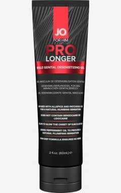 Øget Sexlyst System JO - Prolonger Gel 60 ml