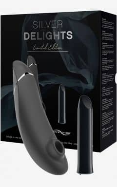 Lufttryksvibratorer Womanizer Silver Delights Collection