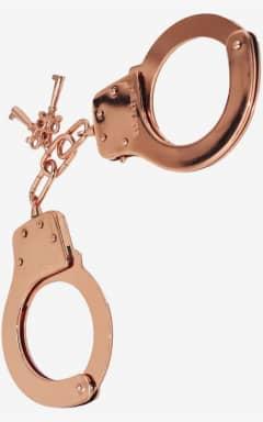 Superdeals Bästsäljare Metal Handcuffs Rose Gold