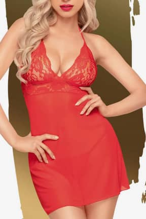 Lingeri Penthouse Bedtime story red