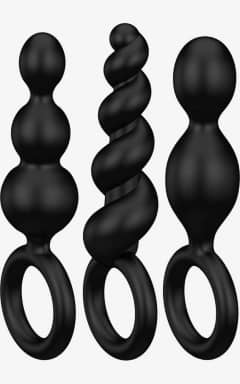Mærker Satisfyer - Booty Call Plugs Black