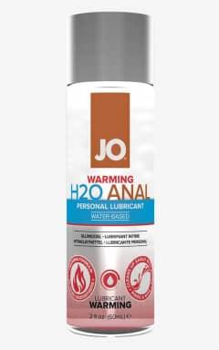 Bedre sex JO Anal H2O Waterbased Warming Lube 60 ml