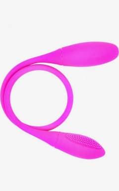 Dildo med vibrator  Dual Vibration Pleasure